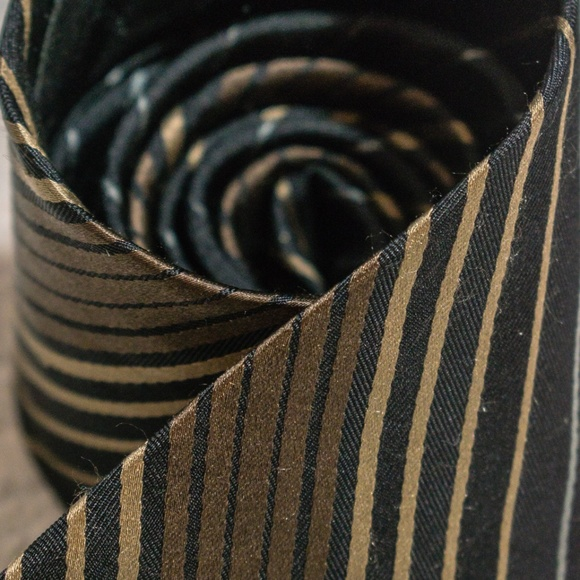 3ef36de04a2a Calvin Klein Accessories | Ck 100 Silk Brown Bronze Neck Tie | Poshmark